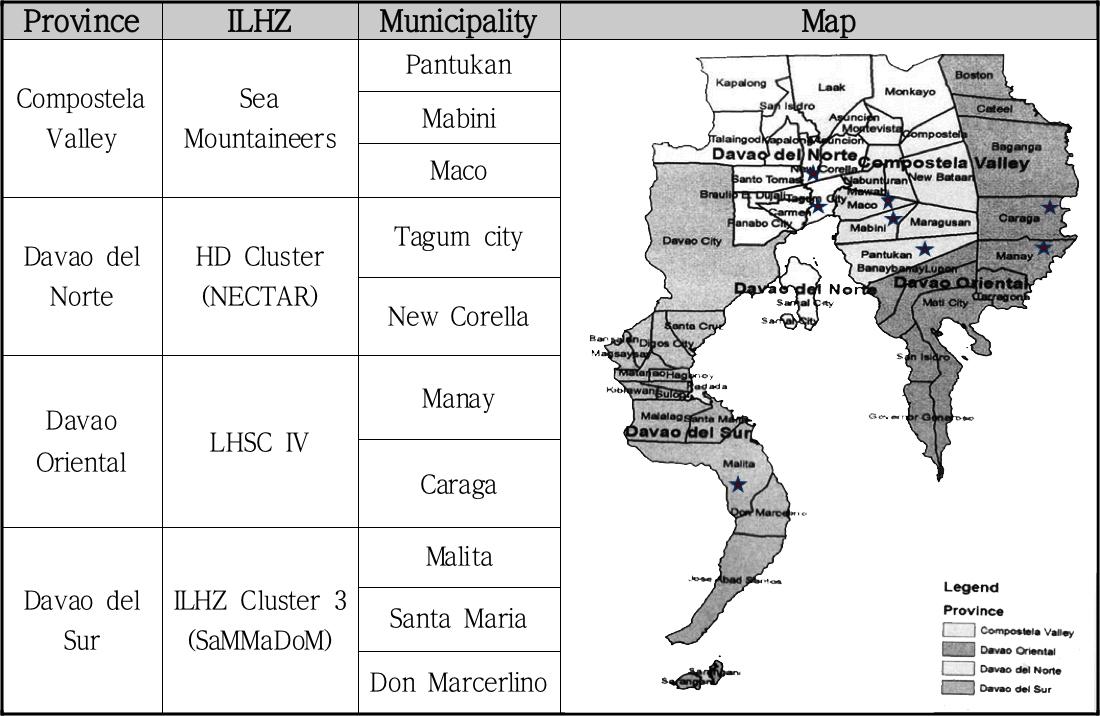 davao map